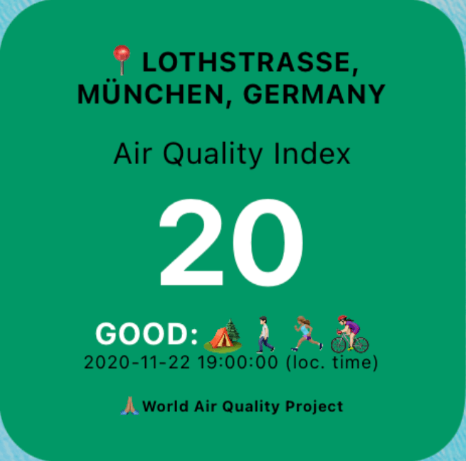 Air Quality (Location based)